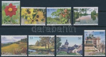 Flora, landscapes and sights set, Növényzet, tájak és látnivalók sor