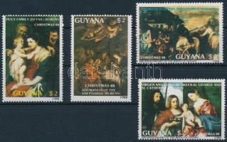 1988 Festmények, Tiziano sor, Paintings, Tizian set Mi 2410-2413