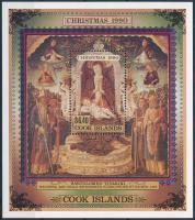 Christmas, paintings block, Karácsony, festmények blokk