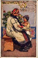 Daj ma mamicko, Antos Frolka, Slovácké Pisné, Serie II. / Slovakian folk song, woman with her son, folklore
