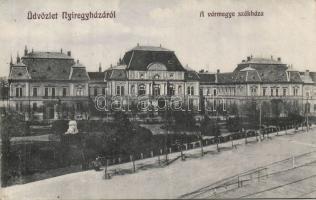 Nyíregyháza Vármegyeház, Borbély Sámuel kiadása