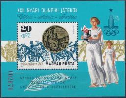 1980 Olimpia érmesek a Magyar Posta ajándéka