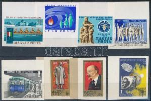 1970 8 klf. ívszéli vágott bélyeg (12.000)