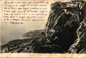 Alupka, Crimea, rocks (fl)