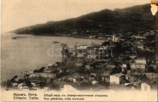 Yalta, Crimea, general view, northeastern coast (EK)
