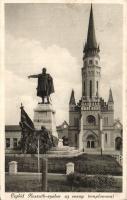Cegléd Kossuth-szobor, Evangélikus templom