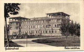 Balatonalmádi Postás üdülőház, Kálmán István kiadása