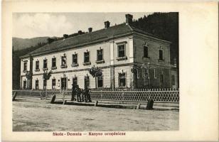 Skole, Skole-Demnia; Kasyno urzednicze / officers casino. Fot. Prof. K. Eljasz. Karol Dudra