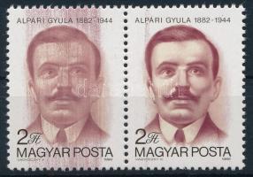 1982 Alpári Gyula pár jelentős festékelkenődéssel