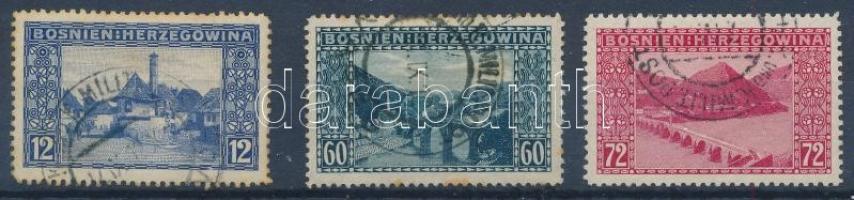 1912 Kiegészítő értékek 3 db (11.000)