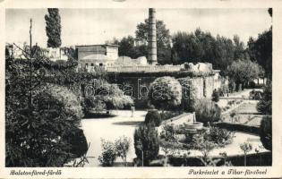 Balatonfüred-fürdő, Tibor fürdő, park