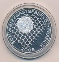 2007. Schweiz - Gastgeber - Österreich 2008. Cu-Ni-Zn emlékérme (33mm) T:PP 2007. Schweiz - Gastgeber - Österreich 2008. Cu-Ni-Zn commemorative medal (33mm) C:PP