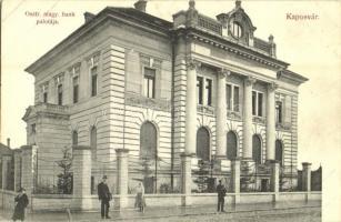 Kaposvár, Osztrák-magyar bank palotája