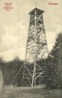 1910 Gyöngyös, Kékestető, Mátratorony. Bendl Károly kiadása