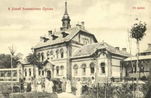 Gyula, József Szanatórium fő épülete