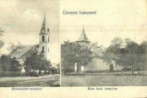 Iváncsa, Református és római katolikus templom