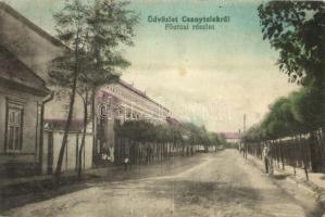 Csanytelek, Fő utca, R. Mátyás üzlete (EK)