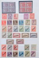 Kis magyar gyűjtemény 1916-1945 (32.000) + MINTA sorok és önálló értékek párokban 1992-ből