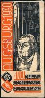 1930 Augsburg, Confessio Augustana 400 éves évfordulója, képes prospektus
