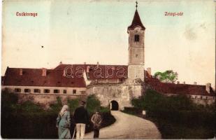 1908 Csáktornya, Cakovec; Zrínyi vár. Fischel Fülöp kiadása / castle