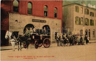 Providence, Pioneer Engine Co. No. 2. House Cor. So. Main and Coin Sts., firefighters (EK)