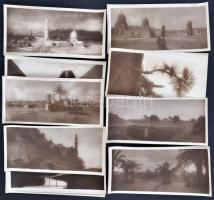 cca 1920 20 nice views from Cairo 20 fotót tartalmazó kiadvány 15x7,5 cm