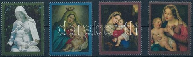 1990 Karácsony sor, Christmas set Mi 531-534