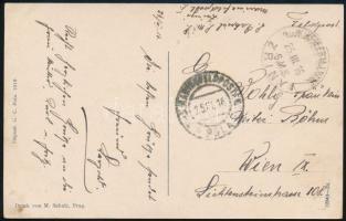 1918 Képeslap / Postcard S.M.S. ZRÍNYI + MFP POLA c -Wien