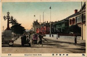 Kobe, Kaigandori (Bund), street view