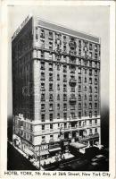 New York City, Hotel York, Optimo Cigards, Dinny & Rollins