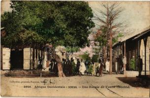 1913 Meckhe, Une Escale de Traite. Afrique Occidentale / street view (fl)