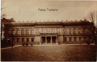 1913 Wien, Vienna, Bécs; Palais Toskana / palace. photo