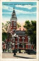 Maryville (Missouri), Nodaway County Court House, automobiles (EK)