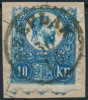 1871 Réznyomat 10kr SZÉPLAK (Gudlin 200 pont)