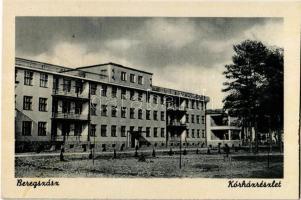Beregszász, Berehove; Kórház / hospital