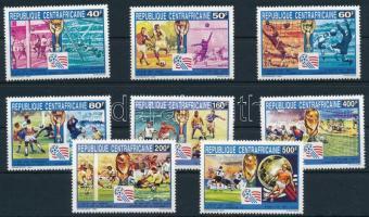 1993 Labdarúgó-világkupa 1994, USA (I) sor, Football World Cup 1994, USA (I) set Mi 1517-1524
