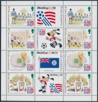 Football World Cup 1994, USA mini sheet, Labdarúgó-világkupa 1994, USA kisív