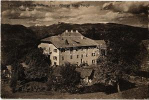 Colle, Kohlern (Bolzano, Bozen); Südtirol, Klaus Berger Gasthof / Albergo / hotel. Advertisement on the backside