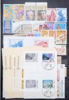 Europa CEPT 1979-1988 szinte komplett gyűjtemény, kb 750 db bélyeg és 40 blokk A4-es berakóban (magas katalógusérték) / Europa CEPT almost complete collection 1979-1988, ca. 750 stamps and 40 blocks in stockbook (high catalog value)