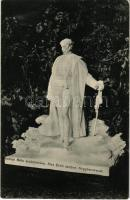 Nagybecskerek, Zrenjanin, Veliki Beckerek; Kiss Ernő aradi vértanú szobra, Radnai Béla szoborműve / statue of Ernő Kiss, martyr of the Hungarian Revolution of 1848-49