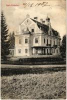 1907 Alsómogyoród, Alsó-Lieszkó, Dolny Lieskov; Lieszkovszky-Leszkóczy kastély / castle (EK)