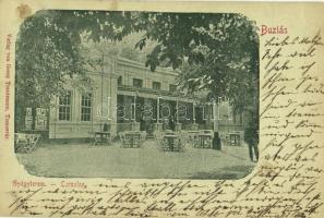 1898 (Vorläufer!) Buziás, Buzias; gyógyterem. Georg Trautmann / Cursalon / spa