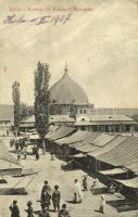 1907 Kouba (Algiers), Mosque, bazaar market (Rb)