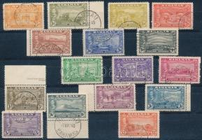 1948 Évforduló sor Mi 137-152 (Mi EUR 70,-)