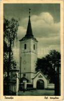 1944 Tornalja, Tornaalja, Tornala; Református templom. Kiadja Blumenthal Sándor / Calvinist church (EK)