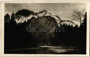 1931 Tátra, Tatry; Dunajec, Pieninek / Pieniny Mountains, Dunajec. Tatra-Fotoglob