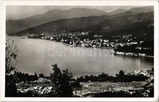 Abbazia, Opatija; Panorama / general view (EK)