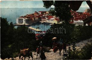 1934 Dubrovnik, Ragusa (worn corners)