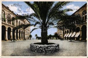 1934 Split, Boticeva Poljana / square, palm tree