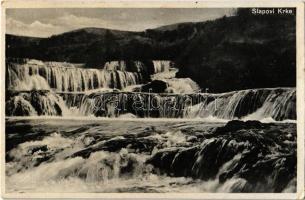 1934 Slapovi Krke / Krka Waterfalls (EK)